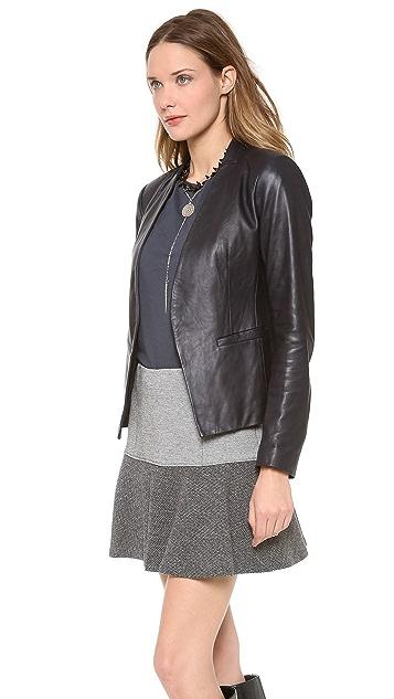 Theory Lanai Leather Jacket