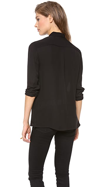 Theory Driya Blouse