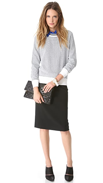 Theory Golda II Pencil Skirt