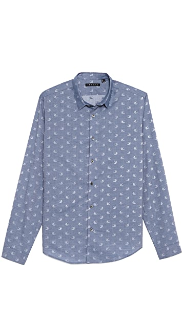 Theory Stephan Dress Shirt
