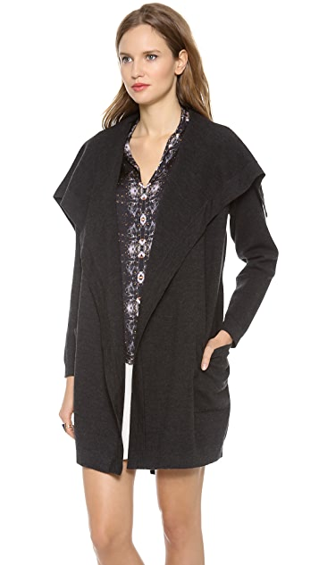 Theory Evian Stretch Angina Cardigan