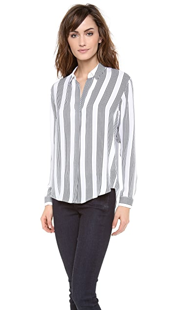 Theory Compile Aquilina B Blouse
