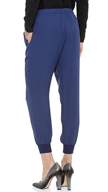 Theory Double Georgette Arai Pants