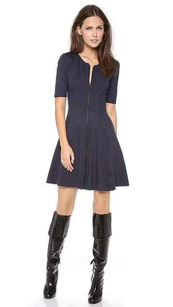 Theory Bonbi Short Sleeve Dress