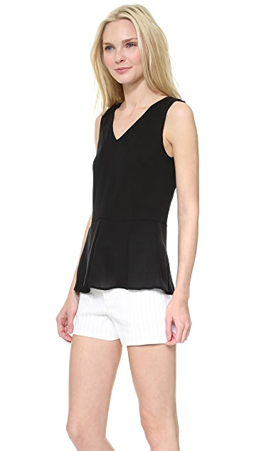 Theory Double Georgette Jinelle Blouse