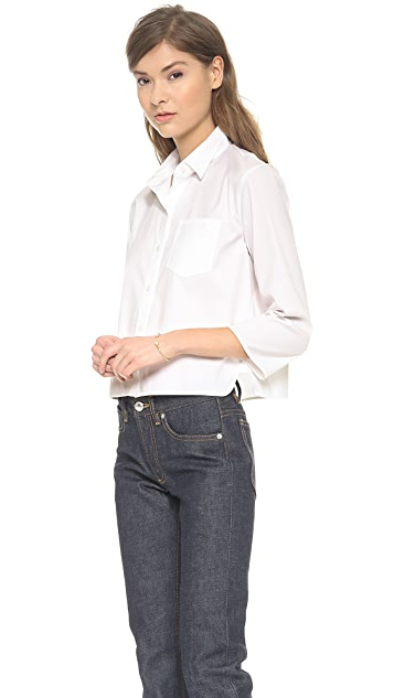 Theory Luxe Lerlynn Button Down