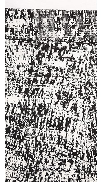 Theory Tweedscape Doreene C Skirt