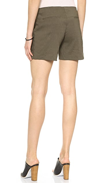 Theory Crunch Jariah Shorts