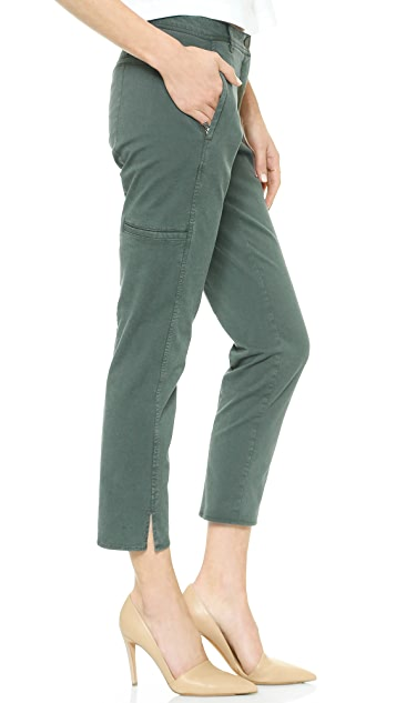 Theory Farment Wash Chipri Pants