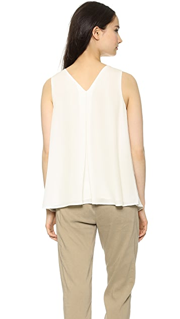 Theory Double Georgette Lesay Blouse