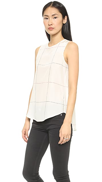 Theory Articulate Bringam Blouse