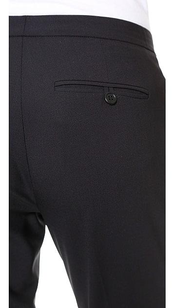 Theory Savile Row Item Cropped Pants