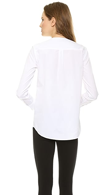 Theory Sartorial Nyle Blouse
