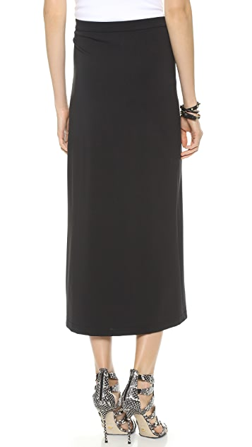 Theory Techno Jersey Sanleen Skirt