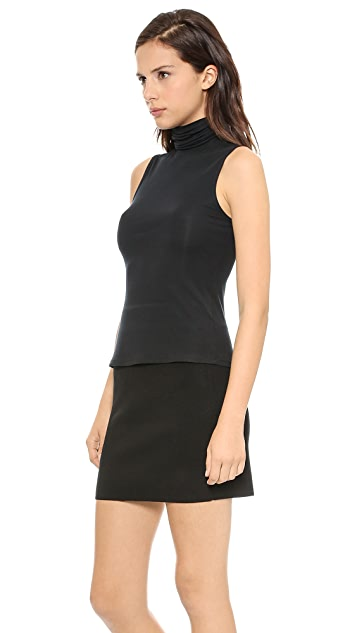 Theory Ribbed Viscose Wendel Top