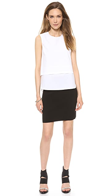Theory Holeen B. Prosecco Skirt