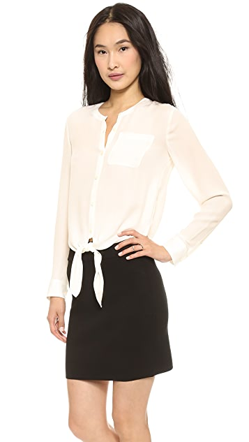 Theory Kevine Blouse
