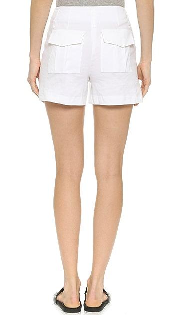 Theory Crunch Bonari Shorts