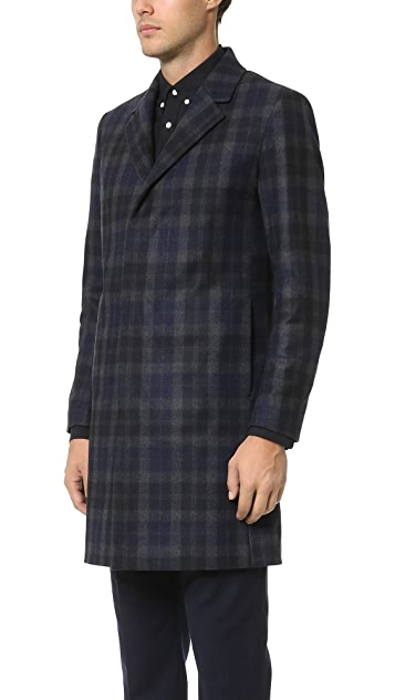 Theory Lowell Gerridge Overcoat