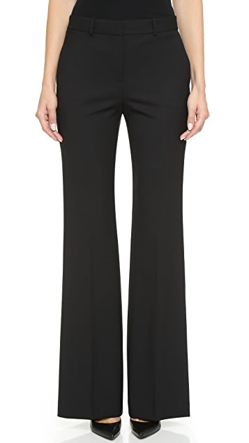 Theory Cavalry Twill Jotsna Wide Leg Pants