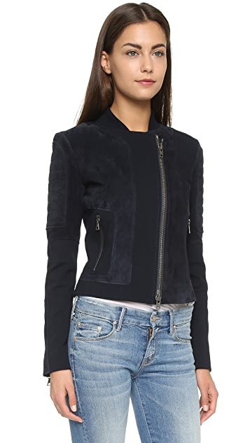 Theory Shezi K Perfect Suede Jacket