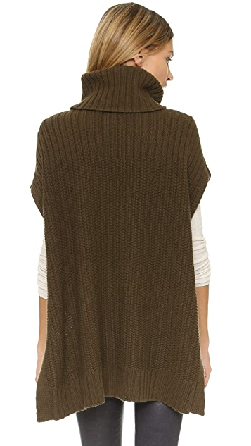 Theory Boseley Fine Haven Poncho