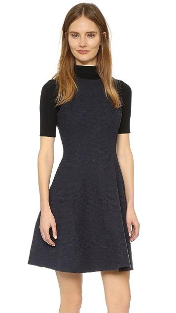 Theory Udela Spring Tweed Dress