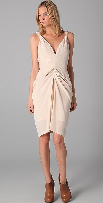 Therese Rawsthorne Strap Accordion Dress