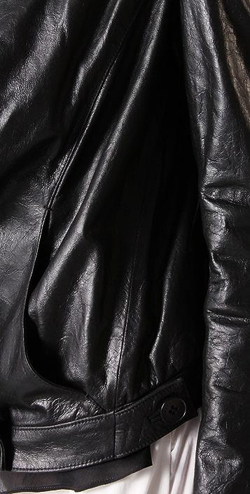 Theyskens' Theory Juno Lambskin Jacket