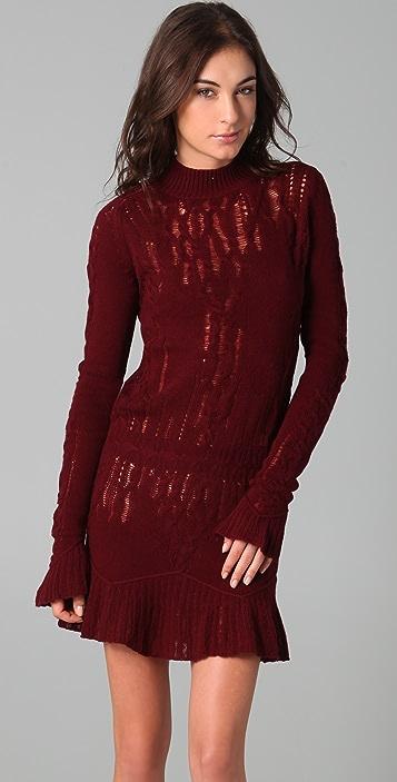 Theyskens' Theory Knock Yara Sweater Dress