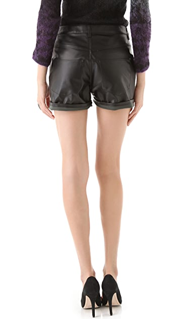 Theyskens' Theory Porty Fomatsu Shorts