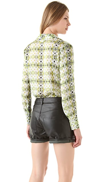 Theyskens' Theory Bross Imoges Blouse