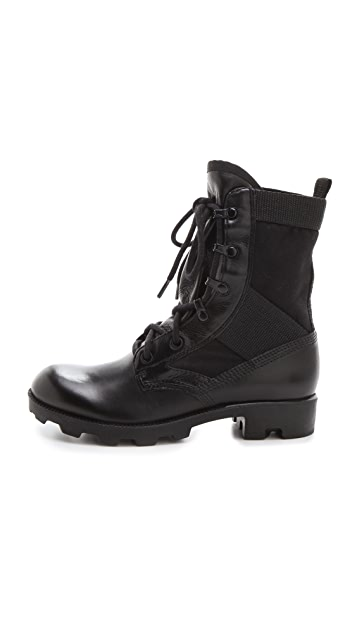 Theyskens' Theory Yvanka Combat Boots