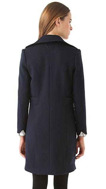 Theyskens' Theory Melaya Flok Coat