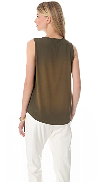 Theyskens' Theory Bannu Fabby Wash Top