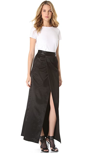 Theyskens' Theory Safia Fwide Skirt