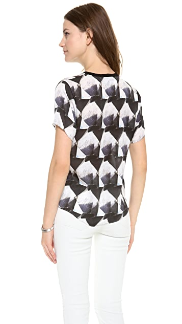 Theyskens' Theory Brib iRock Top