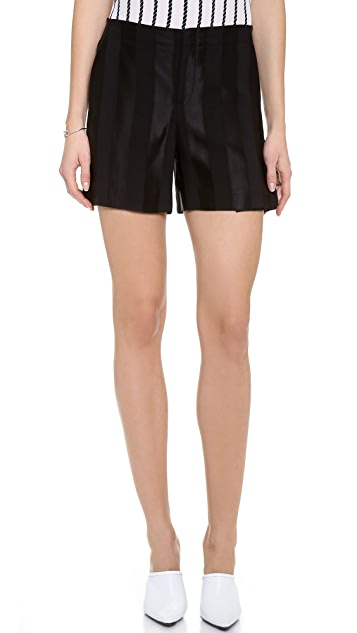 Theyskens' Theory Puxi Shorts