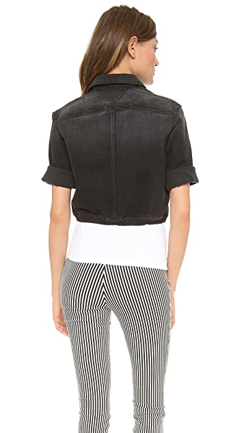 Theyskens' Theory Winset Joey Cropped Jacket
