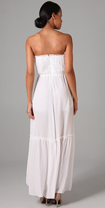 Thread Social Strapless Gown with Tap Shorts