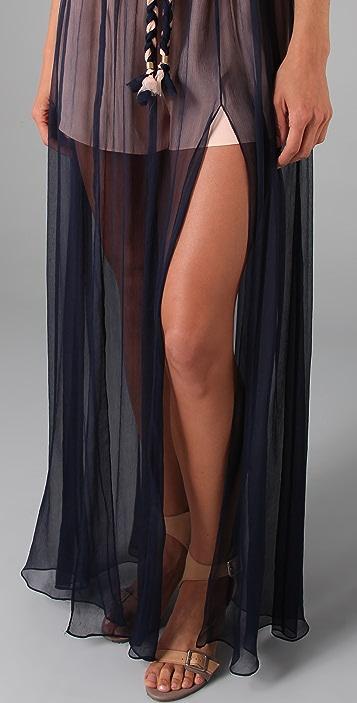 Thread Social Halter Evening Dress