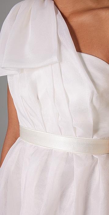 Thread One Shoulder Dress