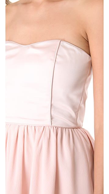 Thread Olivia Strapless Dress