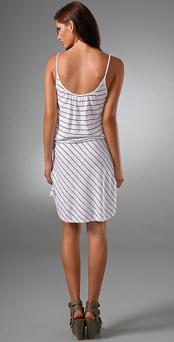Three Dots Stripe Tank Dress