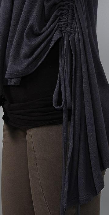 Three Dots Long Sleeve Open Cardigan