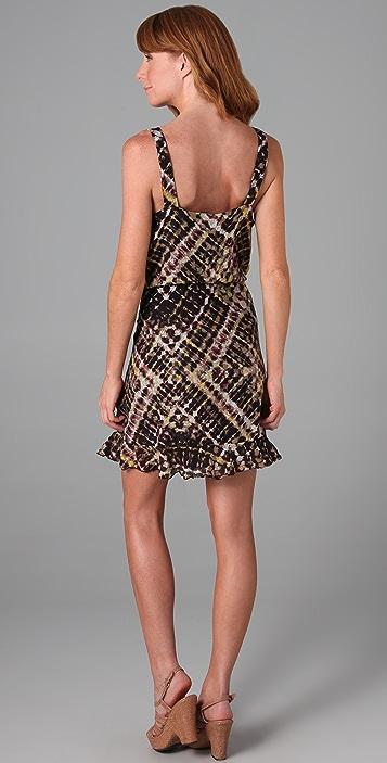 Three Dots Ruffled Cami Dress