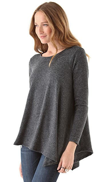 Three Dots Asymmetrical Sweater