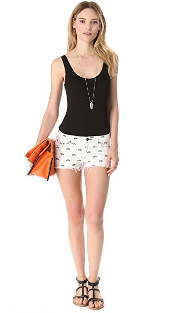 Three Dots Tank Bodysuit