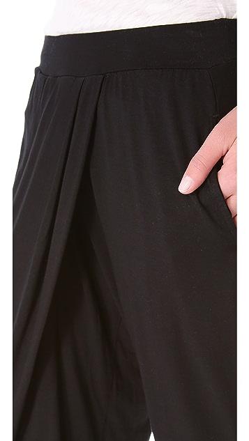 Three Dots Harem Pants with Pockets