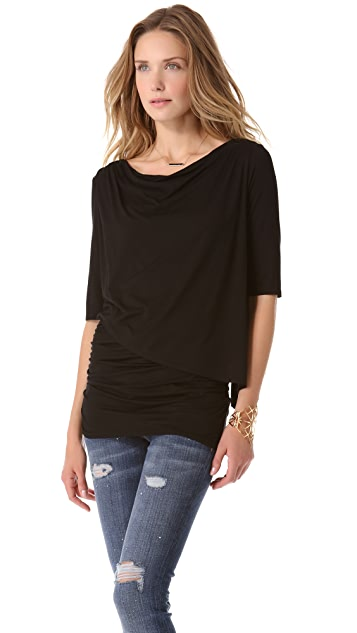 Three Dots Lightweight Viscose Top